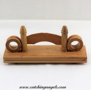 Wooden Hand Fan Stand