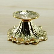 Pedestal Gold plated Stand for Duck Goose Egg or Sphere Ball