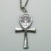 Ankh Tree of Life Necklace