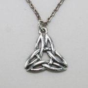 Triquetra Celtic Necklace