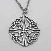 Celtic Knot Circle Necklace