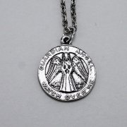 Guardian Angel Medallion Necklace