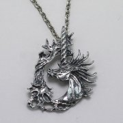 Thorn Unicorn Necklace