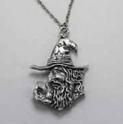 Scrying Wizard Necklace