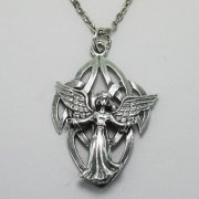 Celtic Angel of Grace Necklace