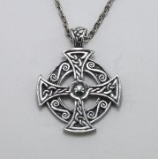 Maltese Cross Celtic Knot Necklace