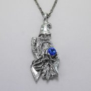 Wizard and Rhinestone Necklace