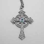 Elaborate Celtic Cross Necklace