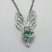 Fairy Necklace with Swarovski Crystal