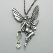 Magical Fairy Necklace with Crystal Prism
