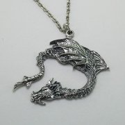 Ancient Fire Dragon Necklace