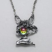 Sitting Fairy Necklace