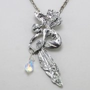 Art Nouveau Fairy Necklace