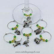 Australian Animal Wine Glass Charms Set of 6