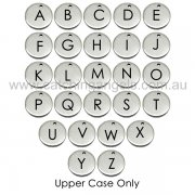 Add on Initial Charm - Gothic Font