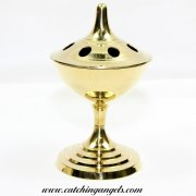 Brass Censer Charcoal Burner 15cm