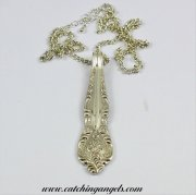 Elegant Spoon Handle Necklace