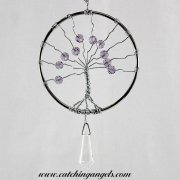 Beaded Tree of Life Suncatcher