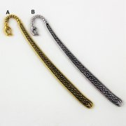 Hand Bookmark Hooks 122mm Antique Gold