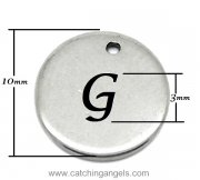 Genie Bottle Initial Necklace