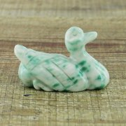 Green Tree Agate Duck