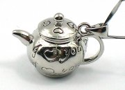 Teapot Perfume Locket Necklace