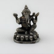 Ganesh with Skulls Statue