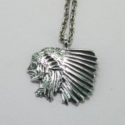 Small Indian Chief Necklace