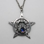 Pentagram Wizard Necklace
