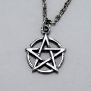 Small Pentagram Necklace