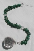 Green Aventurine Gemstone Suncatcher